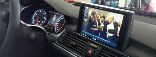 Audi A6 4G VFL mit MMI 3G Plus