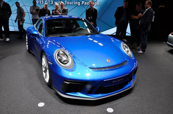Porsche GT3 mit Touring Package