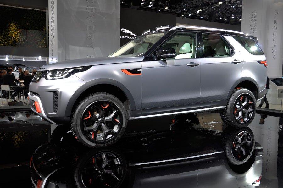 Land Rover Discovery SVX auf der IAA 2017