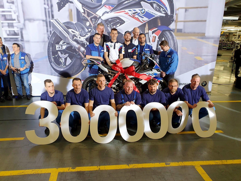 Drei Millionen BMW-Motorräder aus Berlin!