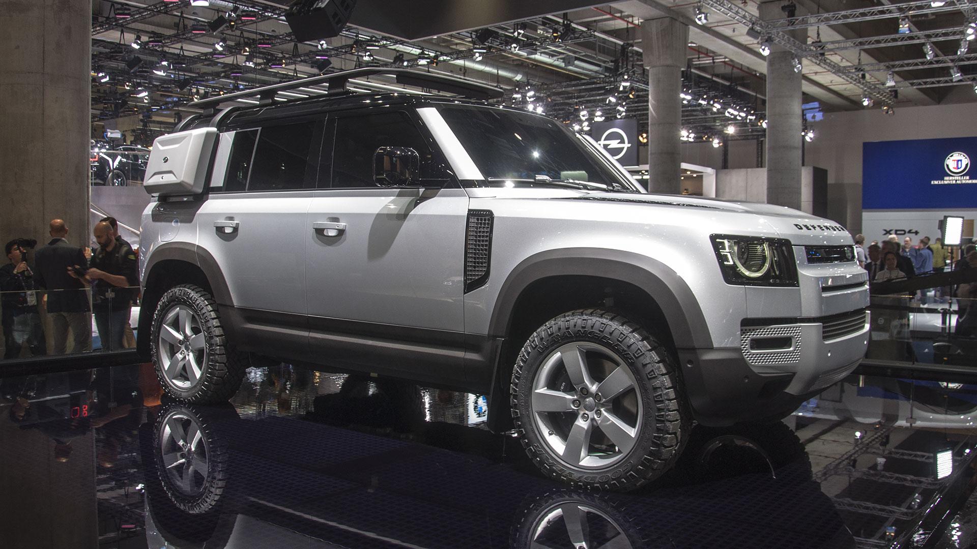 Land Rover Defender auf der IAA 2019
