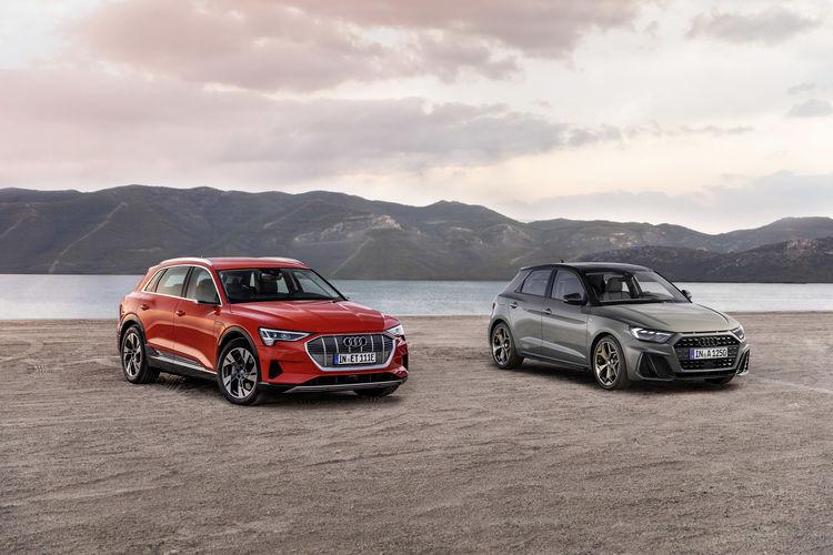 """Gewinner des """"Goldenen Lenkrads 2019: Audi e-tron/Audi A1 Sportback"""